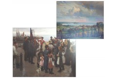 Royal Academy paintings of 1891 and 1927 back in Cornwall