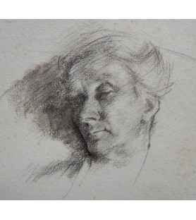 A Sleeping Woman by Arthur...