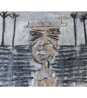 Man with Hat by Michael Rees