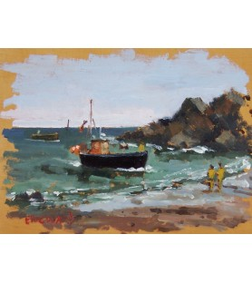 Cadgwith Cove by Eric Ward