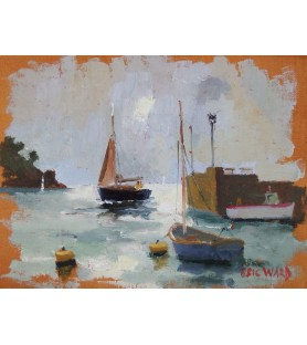 Fowey Harbour by Eric Ward