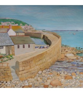 Mousehole Harbour by Barry...
