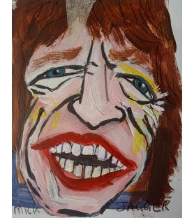 Mick Jagger by Julian...