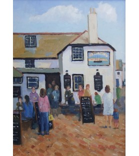 The Sloop Inn, St Ives by...