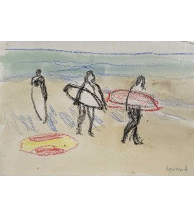 Surfers by Charles Howard