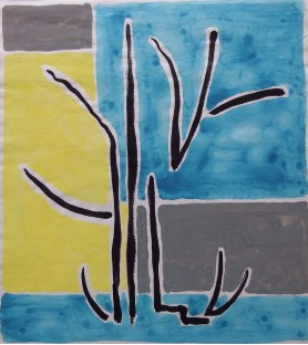 Three Abstract Works by...