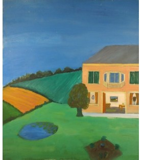 Farmhouse and Gardens by...