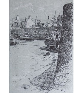 Porthleven Harbour by Alec...