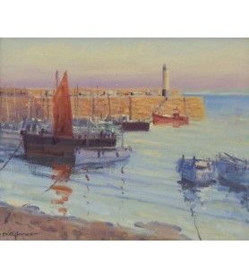 St Ives Harbour by David...