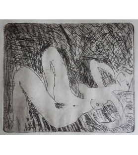 Reclining Nude by Michael Rees